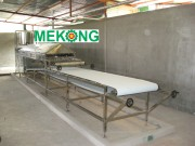 Rice paper making machine